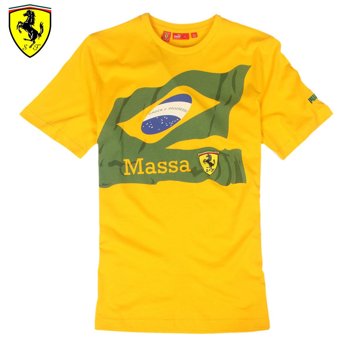 Спортивная футболка Puma 0273 Стандартный О-вырез Короткие рукава ( ≧35cm ) 100 хлопок Для спорта и отдыха Быстросохнущие % Эмблемы