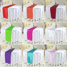 Hotel color butyl satin table flag cloth/hotel/hotel tablecloth table/color butyl satin