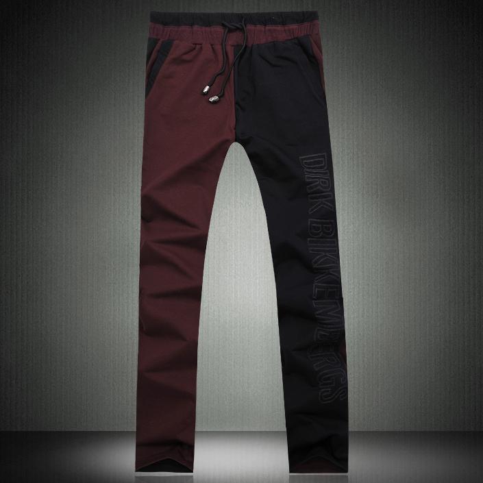 Повседневные брюки 2H/C 2 /K000 p120 2012 BIKK Прямой Хлопок без добавок