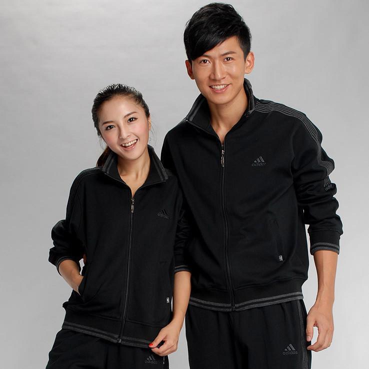 Спортивная толстовка Adidas e89562 2012 Нейтральный - удалит не Кардиган 100 хлопок Молния Летом 2011 года