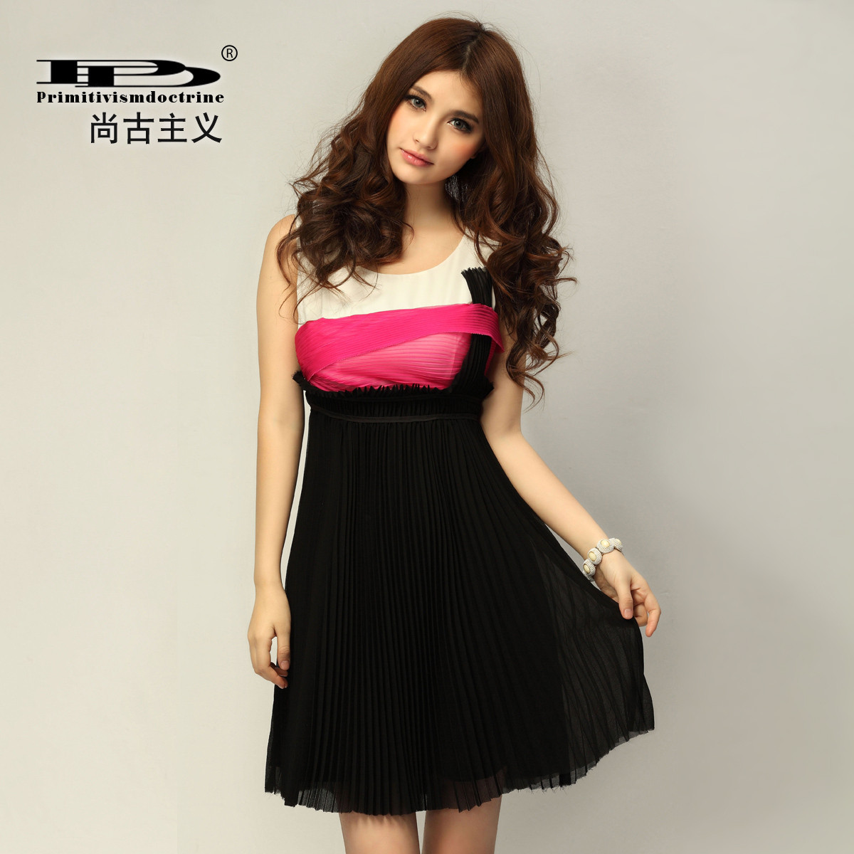 Женское платье Drinitioisn l80105 2012 шифон