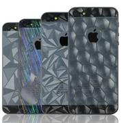 iphone53D贴膜 钻石膜 镜子膜 保护膜 苹果手机膜苹果5卡通膜3D膜