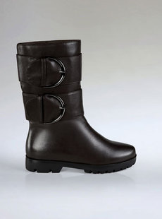 Dream ba Sally 2-ring strap a leather boots increased female 123111301