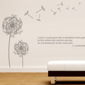 Fullhome Mushroom Brothers cartoon children's room bedroom wall stickers decorative wall stickers June DIY cute