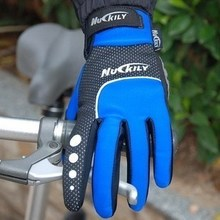 Nuckily bicycle windproof and waterproof winter long gloves/cycling gloves/N2028 racing gloves