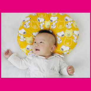 Round pillow/baby baby song song head protection/baby pillow