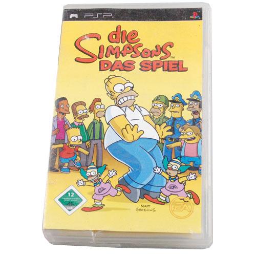 Игра для PSP   PSP UMD Sony Simpsons DAS Spiel