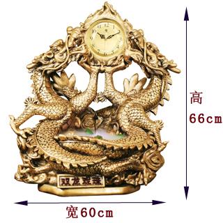 2012龙年最新款套装 双龙戏珠   罗马柱 中式高档家居装饰图片