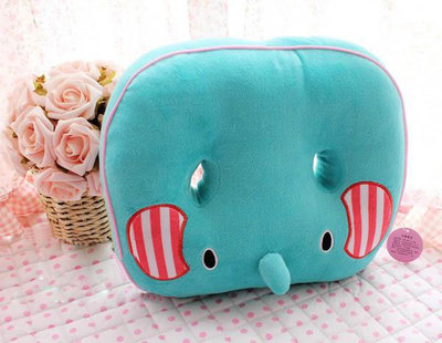 san-x cute sad circus elephant care ventilation holes Nice car seat dining chair cushion thickening