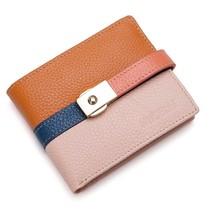 包邮新款正品品牌女包 NUCELLE牛皮钱包真皮女包女式短款潮包包