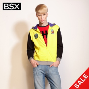 Snap up limited edition Giordano BSX coat men's surge in  summer fun embroidery CONTRAST COLOR even hats and guard clothing 04072101
