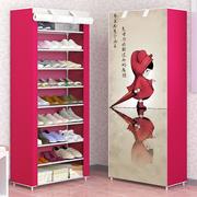 欧式超薄鞋架经济型家用省空间玄关创意多层多功能收纳简易鞋柜子
