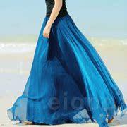 秋装8米大裙摆垂感拖地半身裙海边度假雪纺飘逸波西米亚长裙仙女