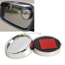 Car 360 Degree Rotatable Wide Angle Round Convex Blind Spot