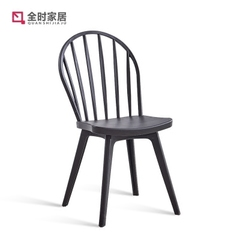 现代简约欧式温莎椅餐厅家用餐椅成人靠背椅子北欧创意时尚靠背凳