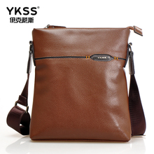 Love wind clothing leisure shoulder bag embossed new soft vertical square phone Europe and the United States single men's bags