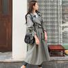 韩国2018风衣秋季女装长款外套过膝大码宽松大衣潮英伦风