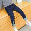 6男童冬装牛仔裤8儿童7裤子9秋冬宽松长裤10中大童12男孩潮裤15岁
