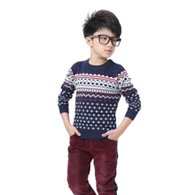 No thickening sets dot fantastic family leisure children blended the new sweater big cherry unlined upper garment sweater Z234