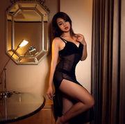 性感睡衣网纱透明睡裙吊带深v透视情趣内衣高开叉长裙女王夜店