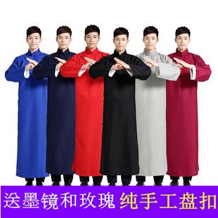 相声大褂长衫演出服中国风民国装中式结婚礼服伴郎伴娘服兄弟团