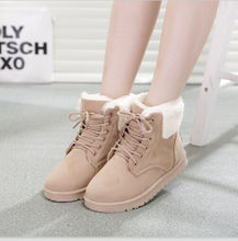 Qiu dong season young girl middle short boots for youth big high school student sports leisure cloth shoes