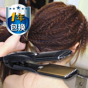 陶瓷电夹板直发器不伤发玉米夹板波浪熨板直板夹头发拉直板浪板夹