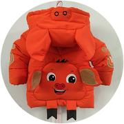 男童棉衣2018冬装衣服洋气反季儿童装棉袄宝宝5加厚外套3-7岁