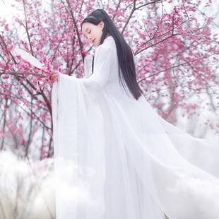 三生三世棉麻记2018夏季衬衫女大袖长衫古装长款披风开衫