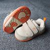 邦浦拉 真皮机能鞋男童女童秋1-3岁宝宝学步鞋耐磨婴儿鞋童鞋