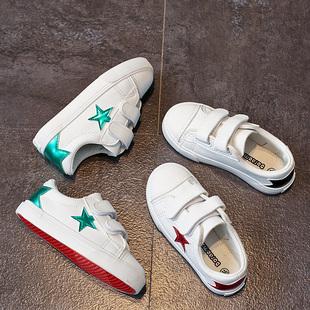 2019春季儿童鞋潮搭拼色小白鞋男童板鞋女童单鞋运动球鞋