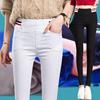 2018裤子女秋季学生运动裤松紧腰显瘦长裤女裤子