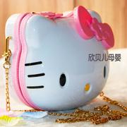 可爱儿童单肩包KT斜挎包女童卡通公主包生日礼物出游包小包包