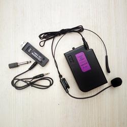音响万能无线腰挂头戴式耳麦话筒音箱通用USB接收器K歌神器