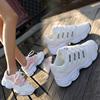 小白鞋秋季女2018百搭跑步港味运动鞋初中学生白球鞋