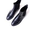 大码女靴子41-43短靴秋冬真皮短筒马丁靴女英伦复古平跟女鞋单靴