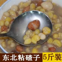 东北粘大碴子5斤装 农家香糯粘玉米碴子大碴粥苞米碴五谷杂粮