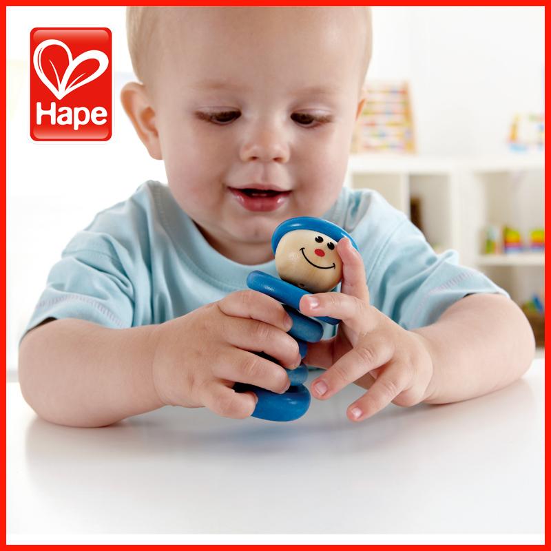 德国hape男孩摇铃0-1岁儿童玩具婴幼儿玩具6