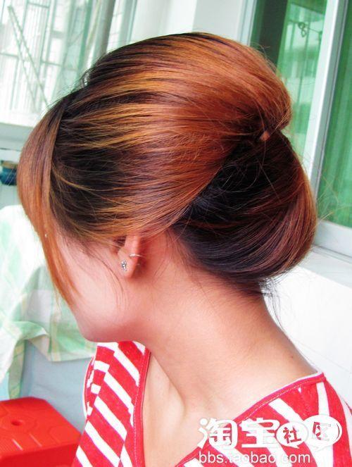 性感无上限简单的日式发型扎法!敢露美女晚装